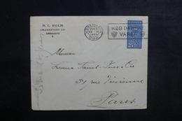 DANEMARK - Enveloppe Commerciale De Copenhague Pour Paris En 1929, Affranchissement Plaisant - L 41791 - 1913-47 (Christian X)