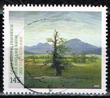 Bund 2019,Michel# 3433 O Schätze Aus Deutschen Museen: Caspar David Friedrich - Der Einsame Baum - Gebraucht