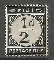 Fiji - 1918 Postage Due 1/2d   MH * SG D6 - Fiji (...-1970)