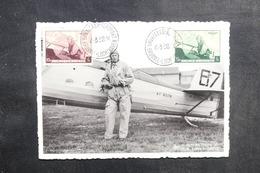 BELGIQUE - Carte Maximum 1938- Aviation - Roi Léopold III - L 41792 - 1934-1951