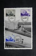 BELGIQUE - Carte Maximum 1938 - Aviation - Roi Léopold III - L 41793 - 1934-1951