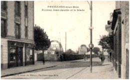 93 PAVILLONS-sous-BOIS - Avenue Jean Jaurès Et Le Stade - Other Municipalities
