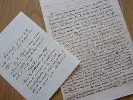 Paulin PARIS (1800-1881) Historien MOYEN AGE - Médiéviste. ACADEMIE Inscriptions Belles Lettres. AUTOGRAPHE - Autographs