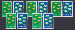 Norden 1977 Complete Set 5 Countries 10 Values  ** Mnh (44457) - Europese Gedachte