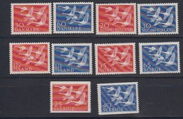 Norden 1956 Complete Set 5 Countries  10 Values ** Mnh (44458) - Europese Gedachte
