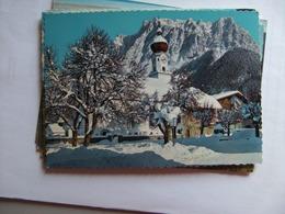 Oostenrijk Österreich Tirol Ehrwald Mit Zugspitzmassiv - Ehrwald