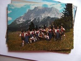 Oostenrijk Österreich Tirol Ehrwald Mit Trachtenverein - Ehrwald