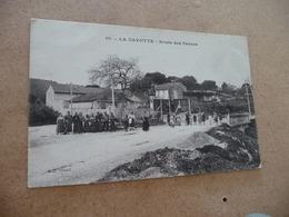 CPA 13 Bouches Du  Rhône La Gavotte Route De Pernes - Autres Communes