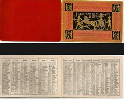 CALENDRIER DE POCHE Ancien. Année 1944. Décors Relief Egypte Pharaon - Calendriers