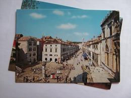 Kroatië Croatia Dubrovnik Placa Or Stradun - Kroatië