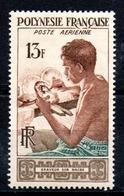 POLYNESIE - YT PA N° 1 - Neuf ** - MNH - Cote: 12,00 € - Airmail