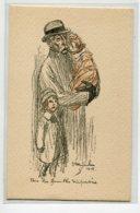 """MILITARIA STEINLEIN Illustrateur 1915 """" Pour Les Familles  Dispersées """"  Conseil National Des Femmes Francaise D12 2019 - Guerra 1914-18"""