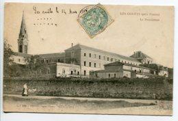 44 NANTES LES COUETS Le Pensionnat Femme Et Son Landau No 459 Dugas - Timbrée 1906   Dos Non Divisé    D12 2019 - Altri Comuni