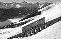 Davos - Parsenn-Bahn Mit Piz D'Aela - GR Grisons
