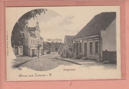 OLD POSTCARD - POLAND - POLSKA - KOLMAR - CHODZIEZ - BERGSTRASSE - Polen