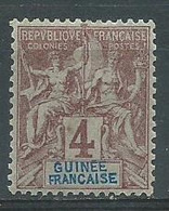 Timbre Guinée Francaise Yvt N° 3 Neuf * - Nuovi