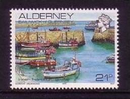 ALDERNEY 10 X MI-NR. 48 ** INNERE HAFEN - SCHIFFE 1991 - Alderney