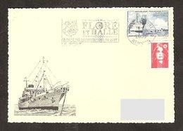 3 01054-Oblitération Le Port (Réunion) Le 23/09/2000 - Marcophilie (Lettres)