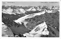 Weissfluh Blick Gegen Bernina, D'Aela U. Tinzenhorn - GR Grisons