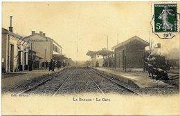 13 BDR LA BARQUE Près FUVEAU Intérieur De La Gare 1907 - Otros Municipios