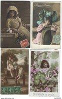 FRANCE - Fantaisie - Joli Lot De 89 CPA D' ENFANTS Des Années 1900-1910 - Phantasie
