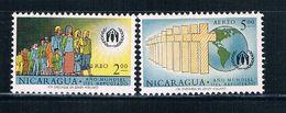 Nicaragua C452-53 Used Set Immigration (N0306)+ - Nicaragua