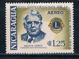 Nicaragua C413 MNH Lions Club (N0319)+ - Nicaragua