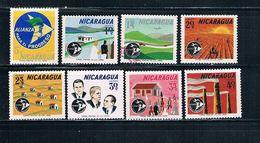 Nicaragua C540-47 Used Set Alliance For Progress CV 2.00 (N0376)+ - Nicaragua