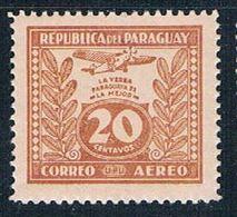 Paraguay C67 MNH Yerba Mate 1931 (P0299)+ - Paraguay