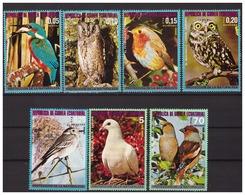 EQUATORIAL GUINEA 1976 Europe Birds - Equatorial Guinea