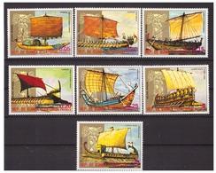 EQUATORIAL GUINEA 1978 Antique Ships - Equatorial Guinea
