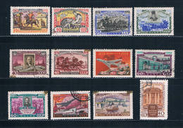 Russia 2095-2106 Used Set Russian Postage Stamps 1958 CV 5.00 (R0729) - Unclassified