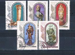Russia 3634-38 Used Set Treasures 1969 CV 1.30 (R0846) - Unclassified