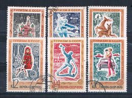 Russia 3783-88 Used Set Tourist Publicity 1970 CV 1.50 (R0848) - Russia & USSR