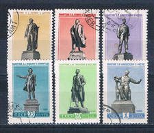 Russia 2204-09 Used Set Statues 1959 CV 1.70 (R0862) - Unclassified