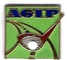 GOLF - G20 - AGIP - CLUB DE GOLF Et BALLE  - Verso : SM - Golf