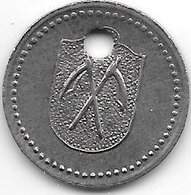 *notgeld  Homburg Bad 10 Pfenng  1918  Fe 3,3 Mm Gel.  6542.4/ F221.3a - [ 2] 1871-1918 : Empire Allemand