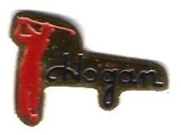 GOLF - G22 - HOGAN - GOLFEUR  - Verso : P.S.G. - Golf