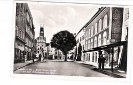 Propaganda Karte, Braunau Am Inn, Adolf Hitler Strasse - Guerre 1939-45