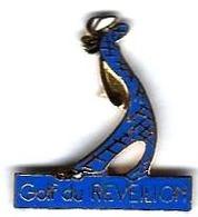 GOLF - G23 - GOLF DU REVEILLON - Verso : GF GROUPE FIA - Golf