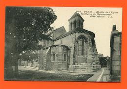 ET/211  PARIS ABSIDE ST PIERRE DE MONTMARTRE - France