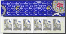 Italy 1998 Europa Day Italia '98 Booklet With 6 Self Adhesive Stamps ** Mnh (44464) - Europese Gedachte