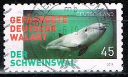 Bund 2019,Michel# 3437 O Der Schweinswal, Selbstklebend - Gebraucht