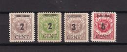 Memel - 1923 - Michel Nr. 183, 185/186, 188 - 40 Euro - Memelgebiet