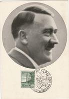 """Propaganda Karte, HITLER, Srempel """" BRESLAU - Turn U. Sportfest"""" - Weltkrieg 1939-45"""
