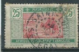 Timbre Mauritanie  Obliteration Saint Louis Senegal - Mauritanie (1906-1944)