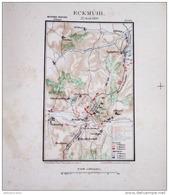 CARTE HISTORIQUE MILITAIRE - MARECHAL DAVOUT -  ECKMÜHL, LE 22 AVRIL 1809 - Cartes