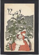 CPA Père Noël Santa Claus Non Circulé Par GUT Nancy - Santa Claus