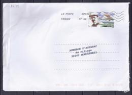 TP N° PA79 SUR LETTRE DU 17.6.15 - Postmark Collection (Covers)