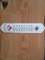 Thermometre Emaille  Vin Du  Postillon - Uithangborden